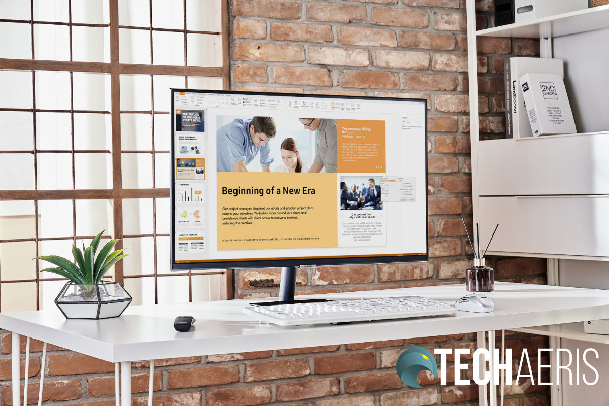 Samsung Smart Monitor M7 Discover Spring