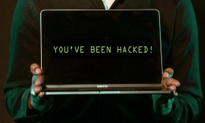 Phishing emails hacked laptop
