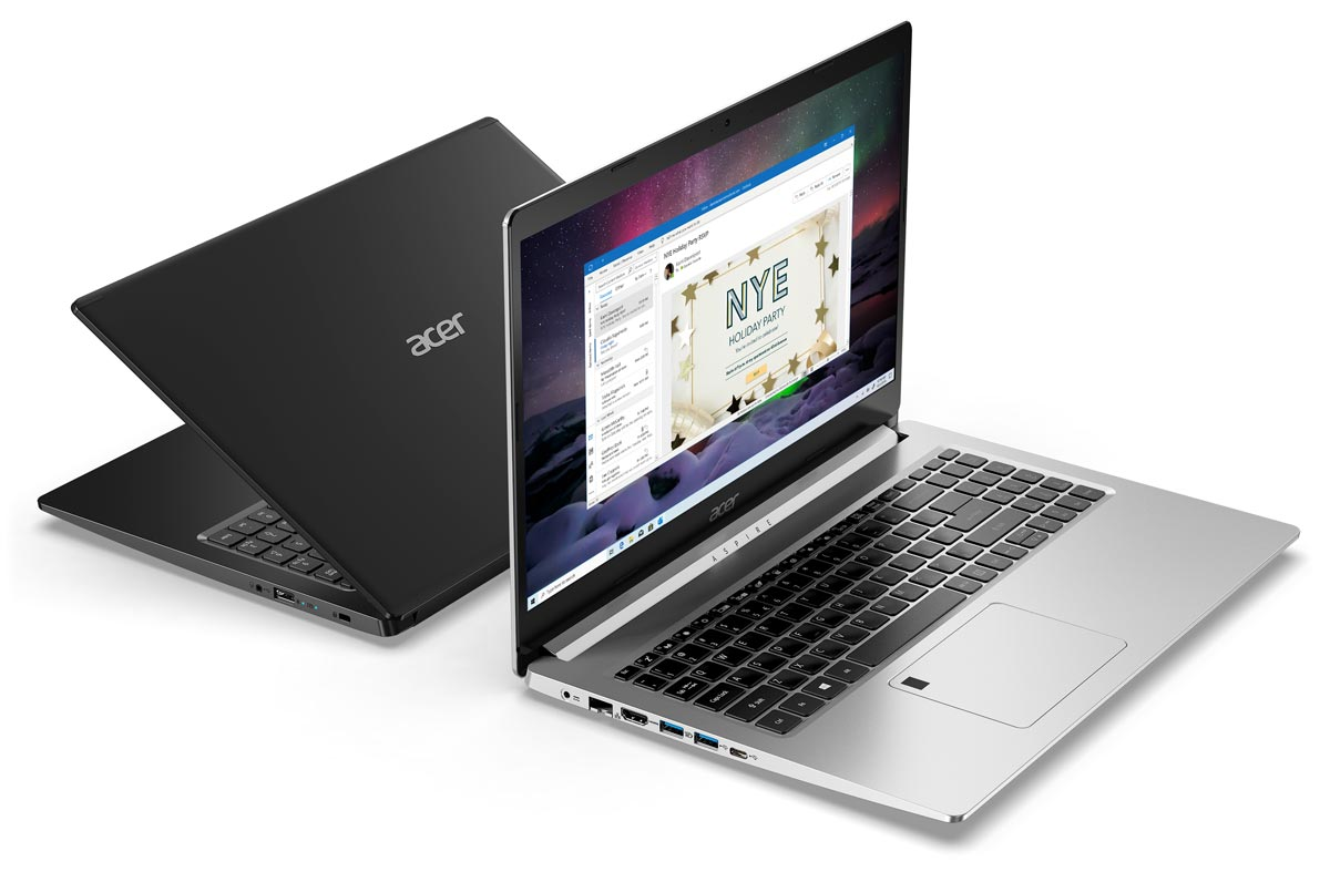 L'ordinateur portable de jeu Acer Aspire 5