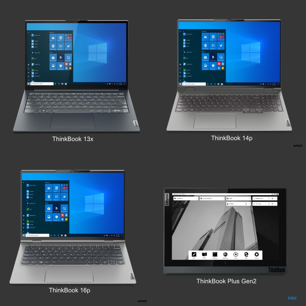 [CES 2021] Lenovo announces new ThinkBook models for mobile professionals