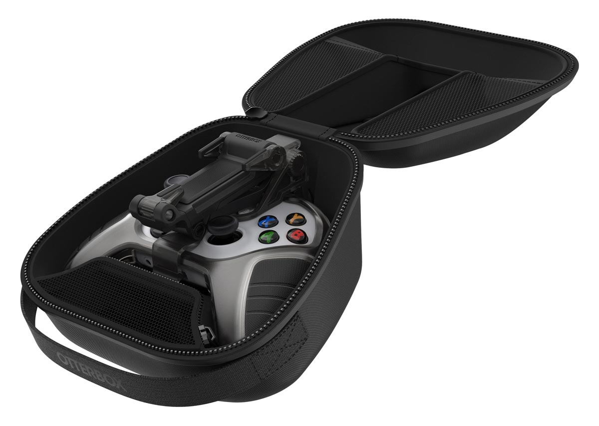 The Otterbox Gaming Carry Case with Xbox Controller and mobile gaming clip