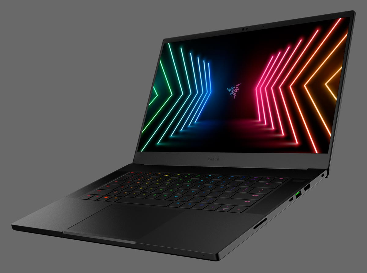 The Razer Blade 15 gaming laptop