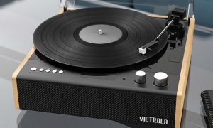 Victrola Audio Technica hybrid record player FI CES 2021