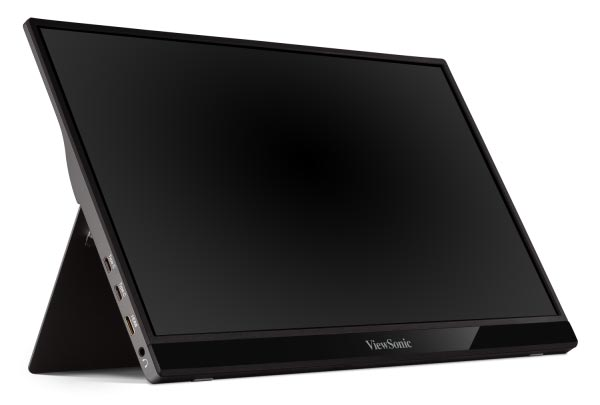The 15.6-inch ViewSonic VG1655 portable monitor