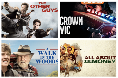 Lights, camera, Crackle...see what's new on Crackle in March 2021