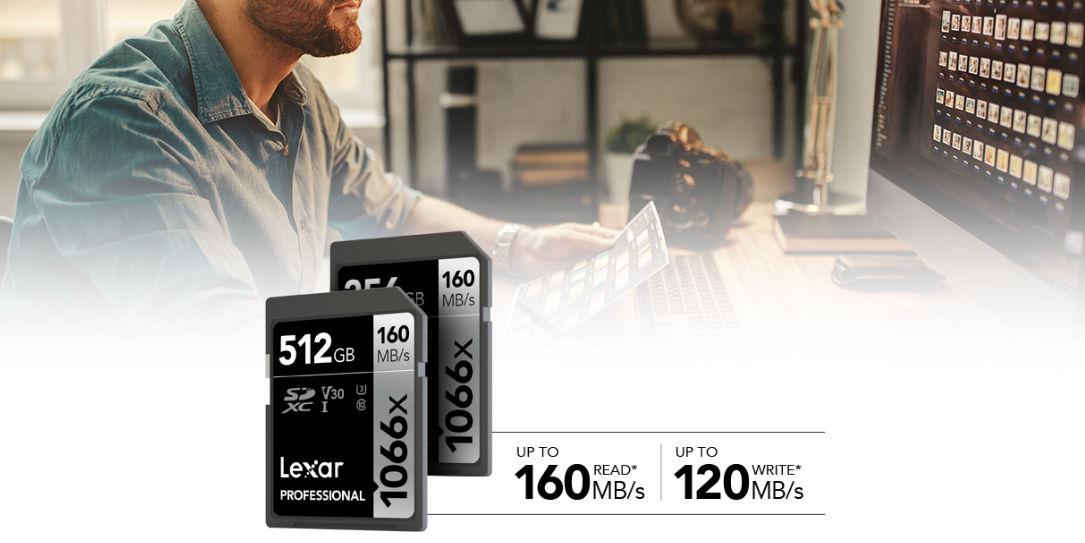 Lexar Announces New Professional 1066x SDXC UHS-I Card SILVER Series