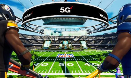 Verizon 5G Super Bowl Fortnite