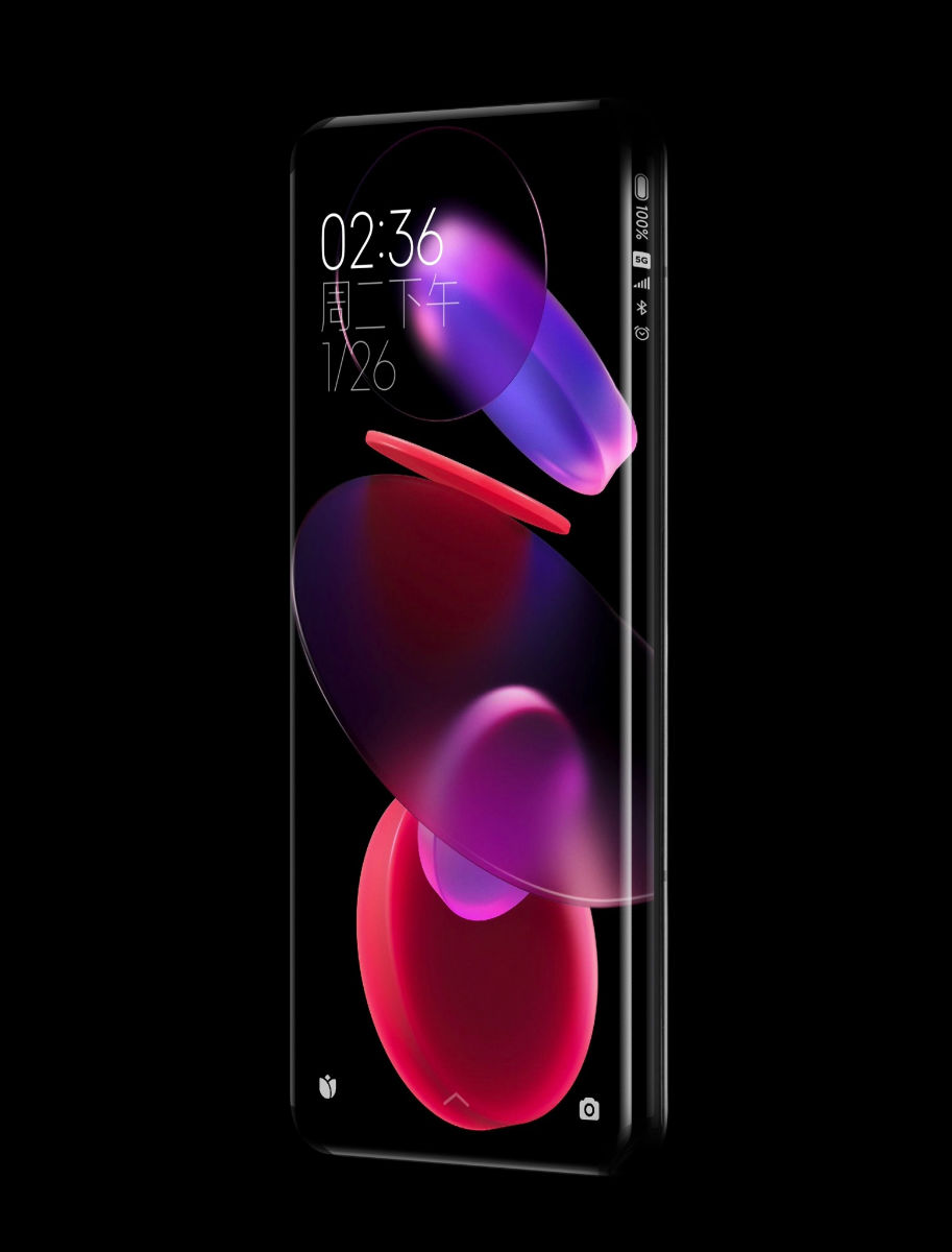 Xiaomi creates quad-curved waterfall display concept smartphone