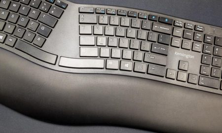 The Kensington Pro Fit Ergo Wireless Keyboard
