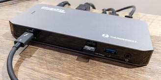 Plugable TBT3-UDC3 Thunderbolt 3 and USB-C Dual Display Dock with 96W Host Charging