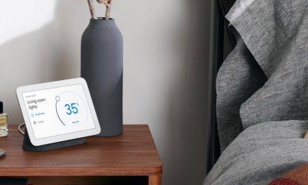 The second generation Nest Hub from Google