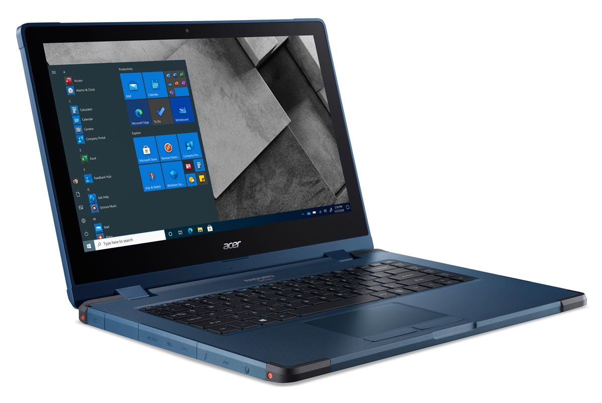 The Acer ENDURO Urban N3 notebook computer