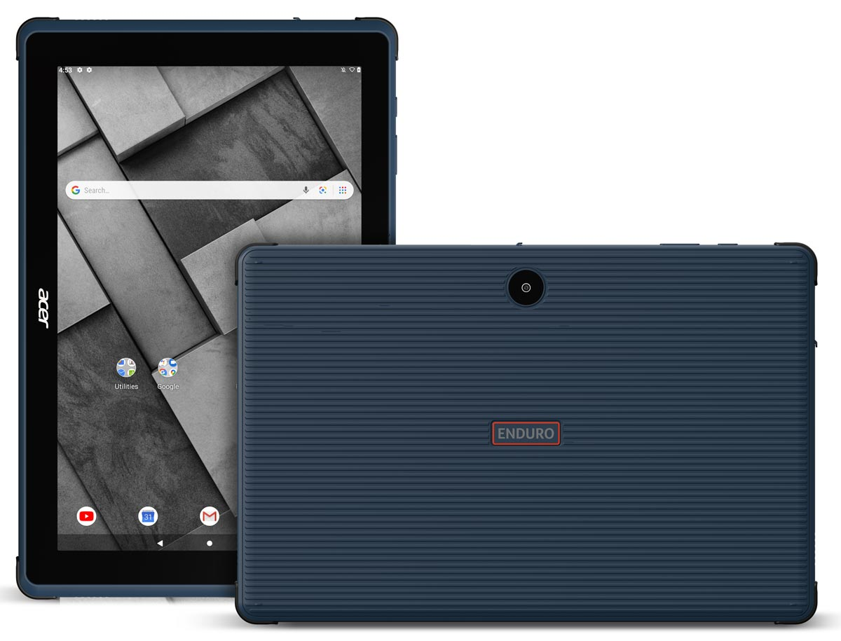 The Acer ENDURO Urban T1 Android Tablet