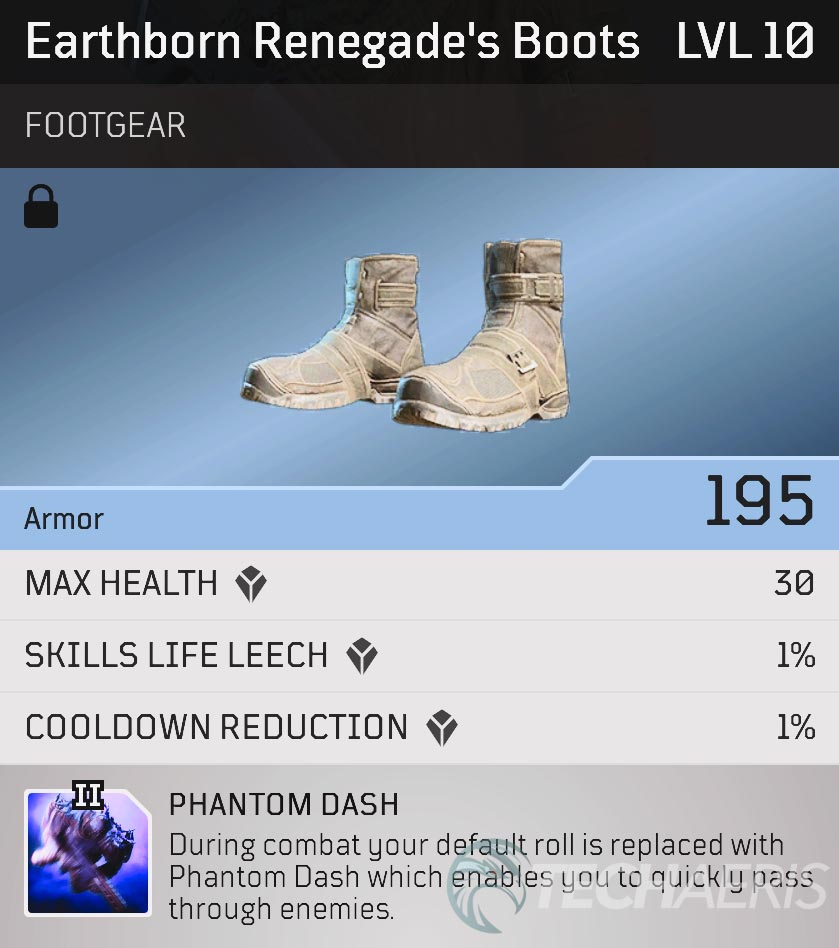 Outriders Earthborn Renegade's Boots