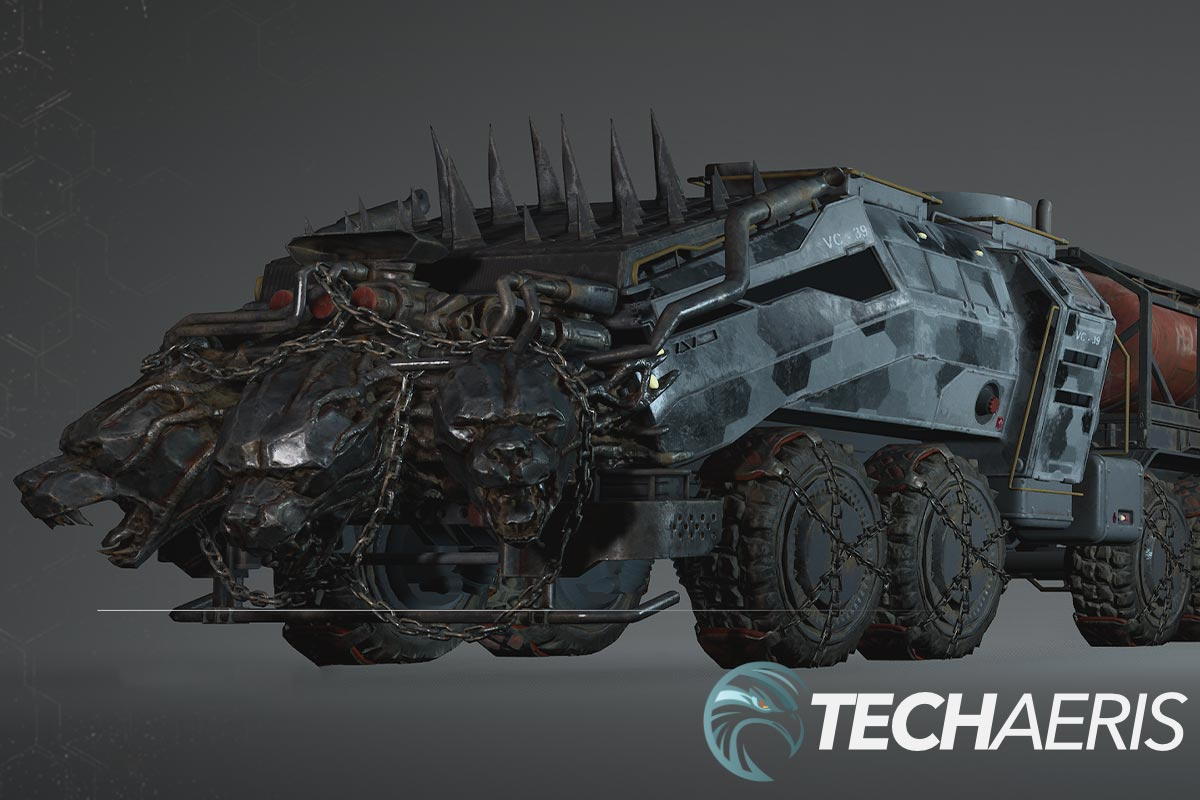 Outriders Hell's Rangers Content Pack Cerberus Truck cosmetic upgrades