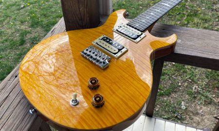 Paul Reed Smith SE Santana Yellow Techaeris