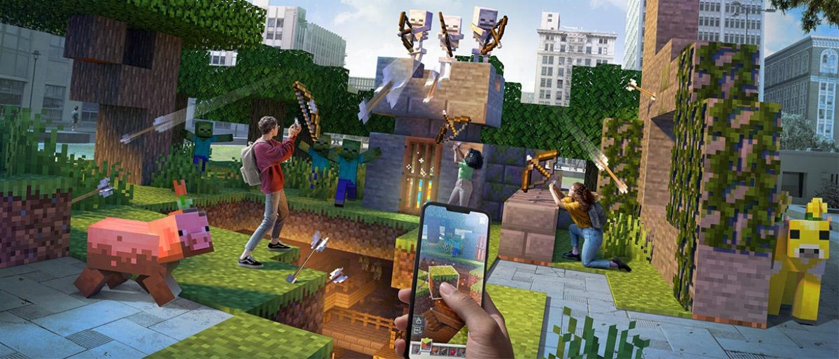 Minecraft Earth uses mixed reality to bring Minecraft to the real world