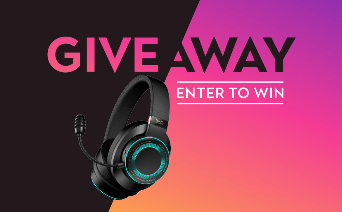 Creative SXFI Gamer headset giveaway Techaeris