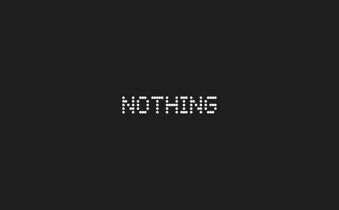 Nothing Logo Techaeris