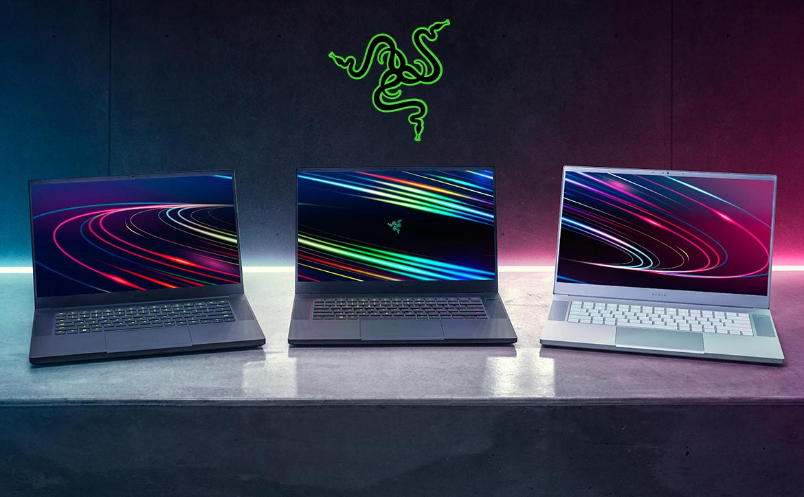 Razer Blade 15 gaming laptop family