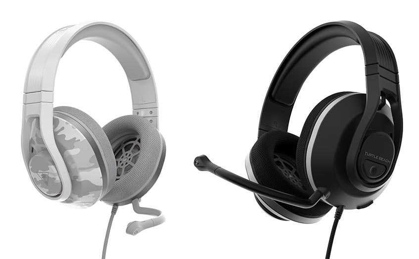 Turtle Beach Recon 500 wired gaming headset in Arctic Camo and Black