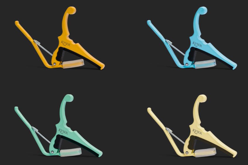 Fender and Kyser partner on new color match capos
