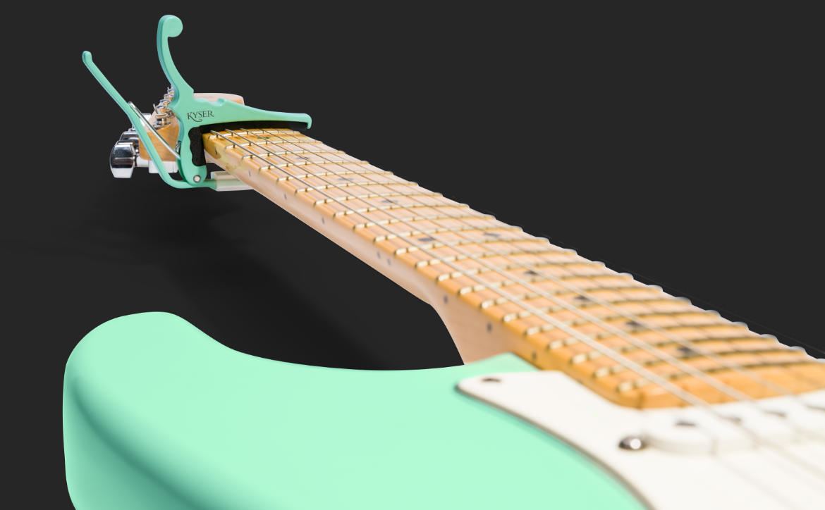Kyser and Fender Capos