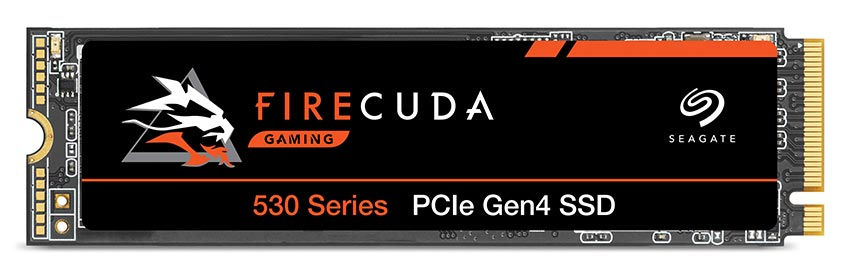 Seagate FireCuda 530 PCIe Gen4 NVMe SSD product shot