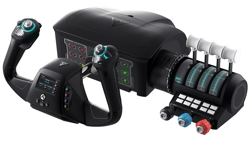 The Turtle Beach VelocityOne Flight control system for Xbox and PC