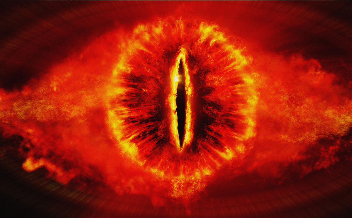 eye of sauron ring of fire