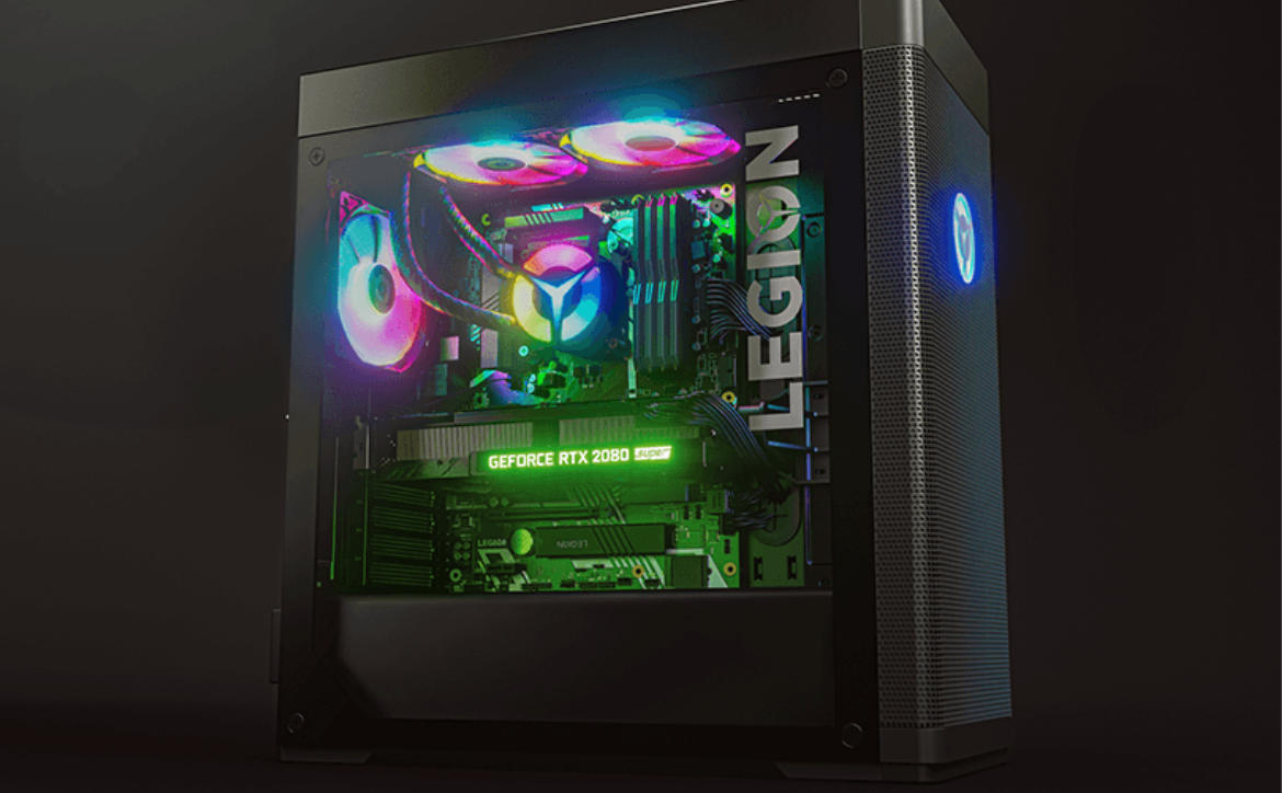 About the Lenovo Legion Tower 7i gaming desktop PC