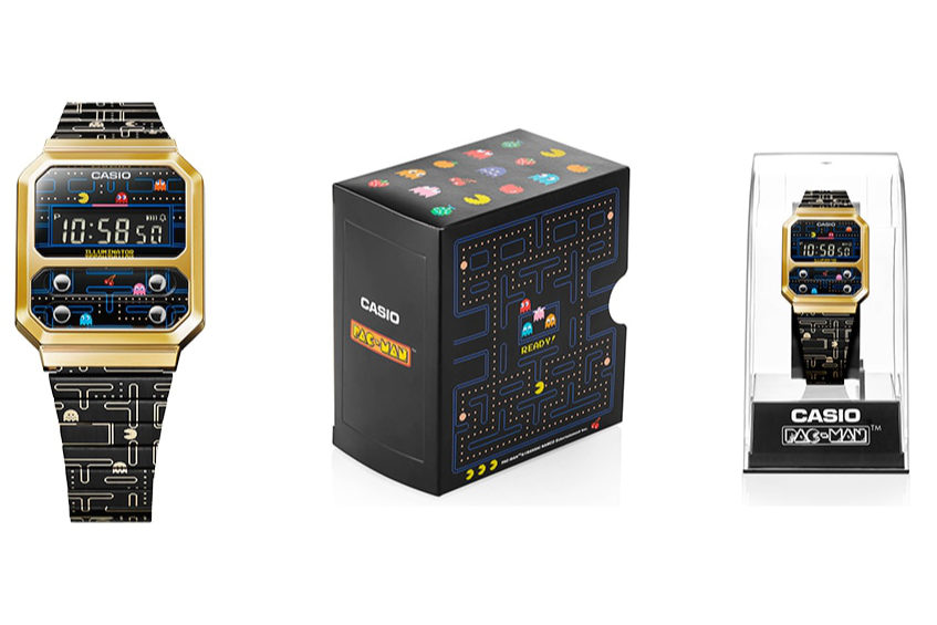 Casio announces new PAC MAN watch with a retro look