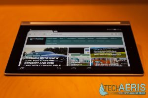 Lenovo-8-Android-YOGA-Tablet-2-Review-Tilt-Mode