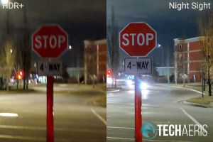 Google-Night-Sight-outdoor-stop-sign-comparison