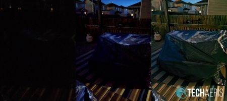 Google Pixel 3 vs Huwai P30 Pro night mode comparison