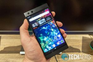 The Razer Phone 2 has a fantastic 120Hz screen with HDR support