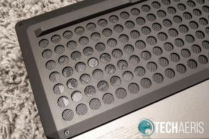 """One of the two fans on the Lenovo Legion Y740 15"""" gaming laptop"""