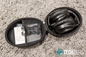 The TaoTronics SoundSurge 60 Active Noise Cancelling Wireless Stereo Headphones with included case
