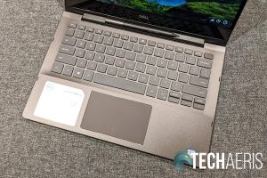 Keyboard and trackpad on the 2019 Dell Inspiron 13 7000 2-in-1