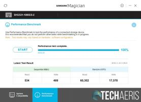 Samsung Magician SK hynix Gold S31 results