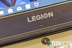 """Unfortunately, the Lenovo Legion Y540-15IRH gaming laptop features a """"chin cam"""""""