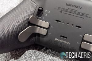 The adjustable Hair Trigger lock on the Xbox Elite Wireless Controller Series 2