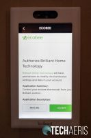Adding an ecobee smart thermostat to the Brilliant Home Control