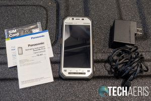 What's included with the Panasonic Toughbook N1 smartphone