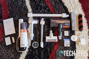 What's included with the ROIDMI X20 Cordless Vacuum Cleaner