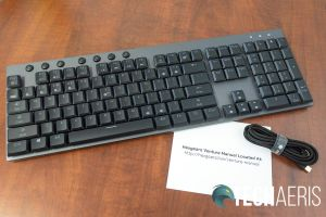 What's included with the Hexgears Venture mechanical keyboard