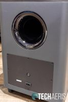 Back view of the JBL Bar 9.1 Dolby Atmos subwoofer