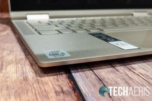 The Lenovo YOGA C740 2-in-1 laptop has a pretty thin design