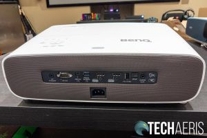 The back of the BenQ HT3550 CinePrime Projector