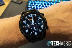 One of the watch faces on the Huawei Watch GT 2